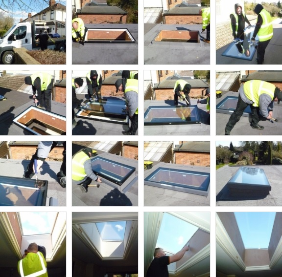 How to install a sunsquare rooflight