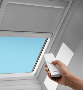 How to reset your velux remote control lb supplies for How to install motorized blinds