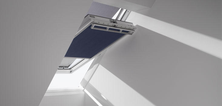 reduce light with thermal blinds