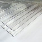 6mm Clear Twinwall Polycarbonate Sheet