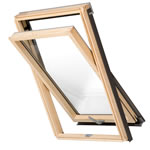 Aurora Centre Pivot Roof Window Pine Finish AURC2R0000-04