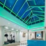 Atlas 2.25m Wide Ultra-Slim Aluminium Roof Lantern - Glazed