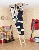 Aurora Polar Deluxe Folding Loft Ladder & Hatch
