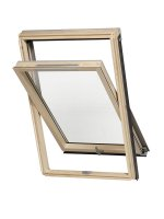 Dakea Good Centre Pivot Roof Window Pine Finish B900