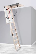 Oman Timber Loft Ladder and Hatch