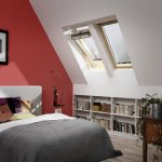Velux Centre Pivot Roof Window Pine Finish