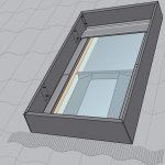 Velux Wind Deflector for Pitched Roof Smoke Ventilation System