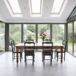 Visofold 1000 Aluminium 4 Sash Bi-Folding Doors - Glazed - 3600 mm