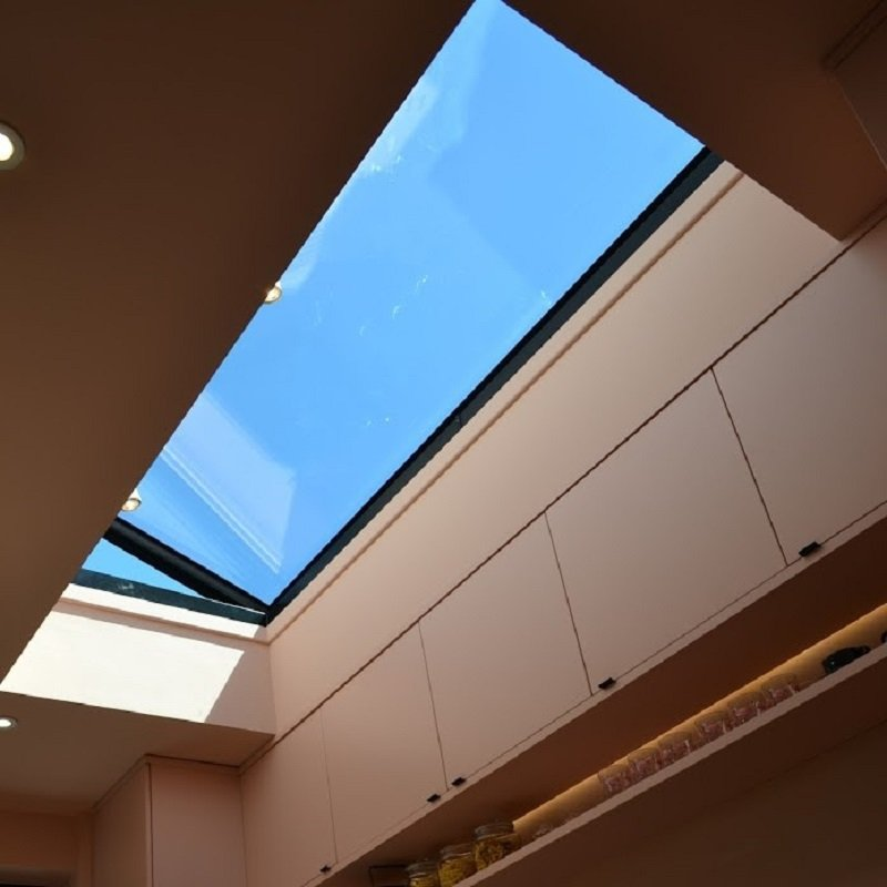 Roof Maker Flat Electric Hinged Opening Rooflight