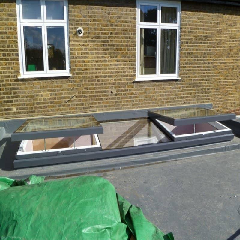 Sunsquare Aero Electric Flat Roof Skylight Sae88dhssn