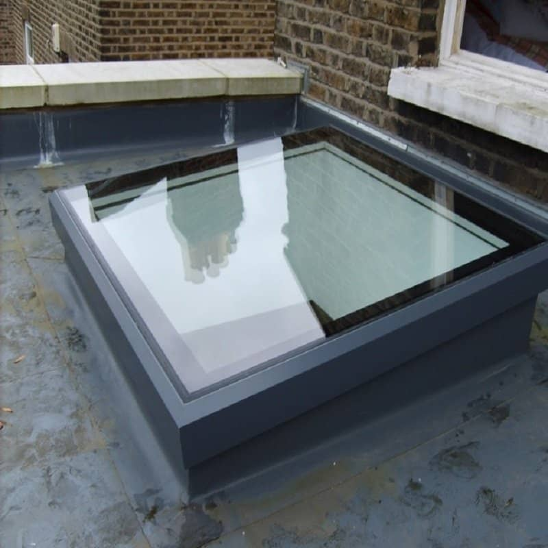 Sunsquare Skyview Flat Roof Skylight Ssv88dhssn