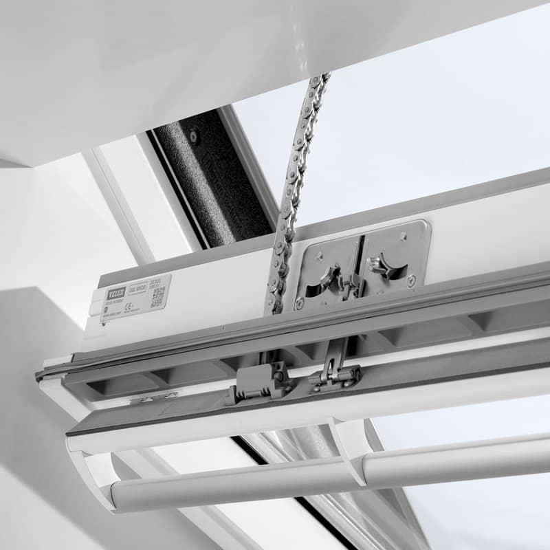Velux Centre Pivot Integra Electric Roof Window White