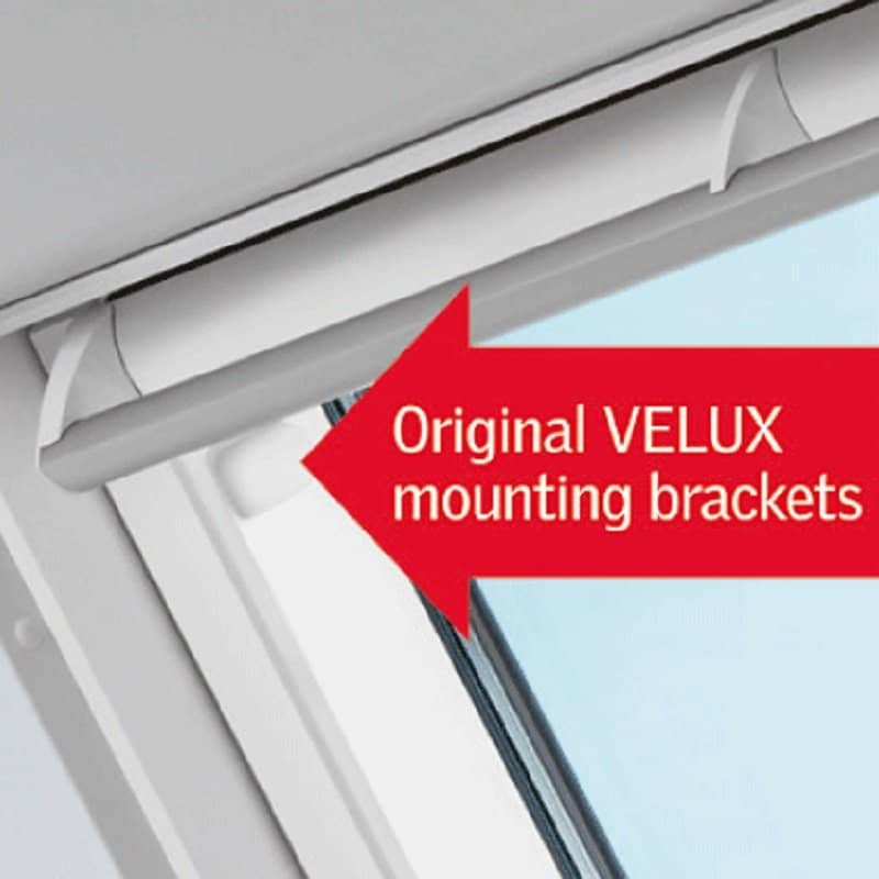 Velux Poly Centre Pivot Integra Electric Roof Window White