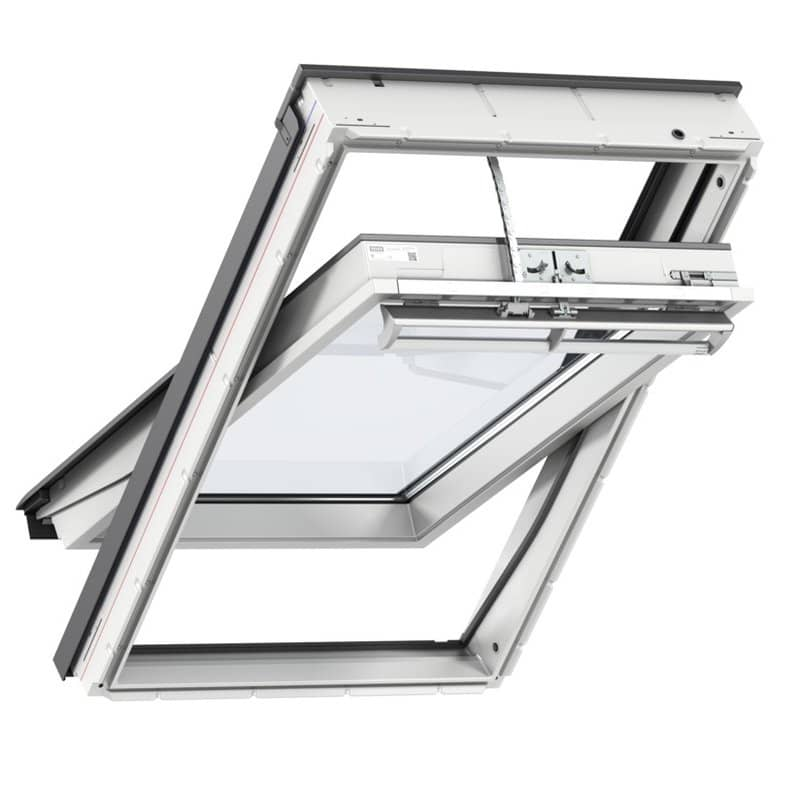 Velux Poly Centre Pivot INTEGRA Electric Roof Window White ...
