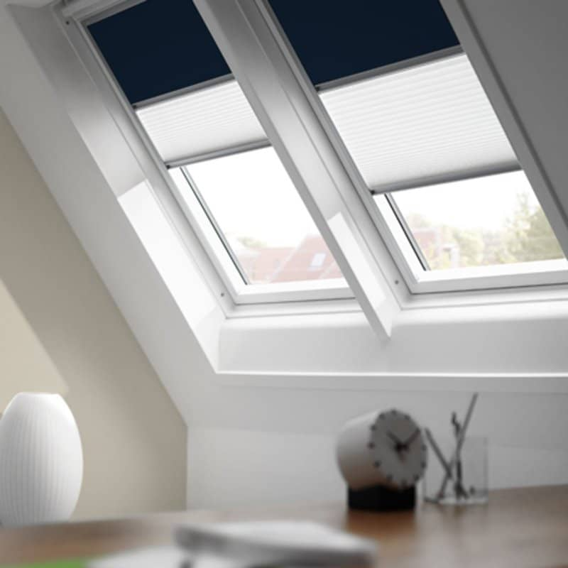 Velux Duo Blackout Pleated Blinds Dfdck021025 1016