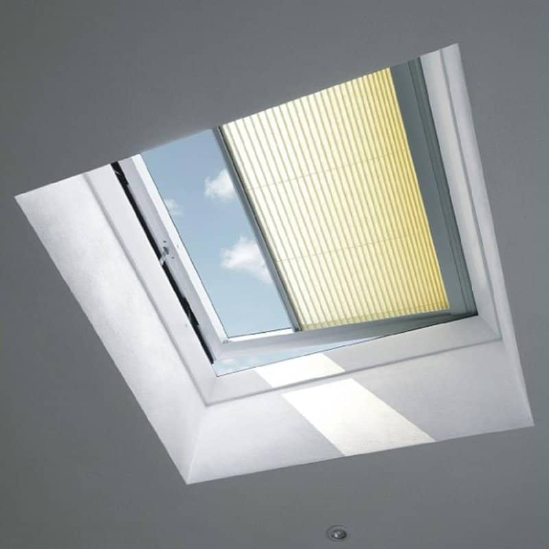 Velux fixed flat roof window cfps00g for Velux glass