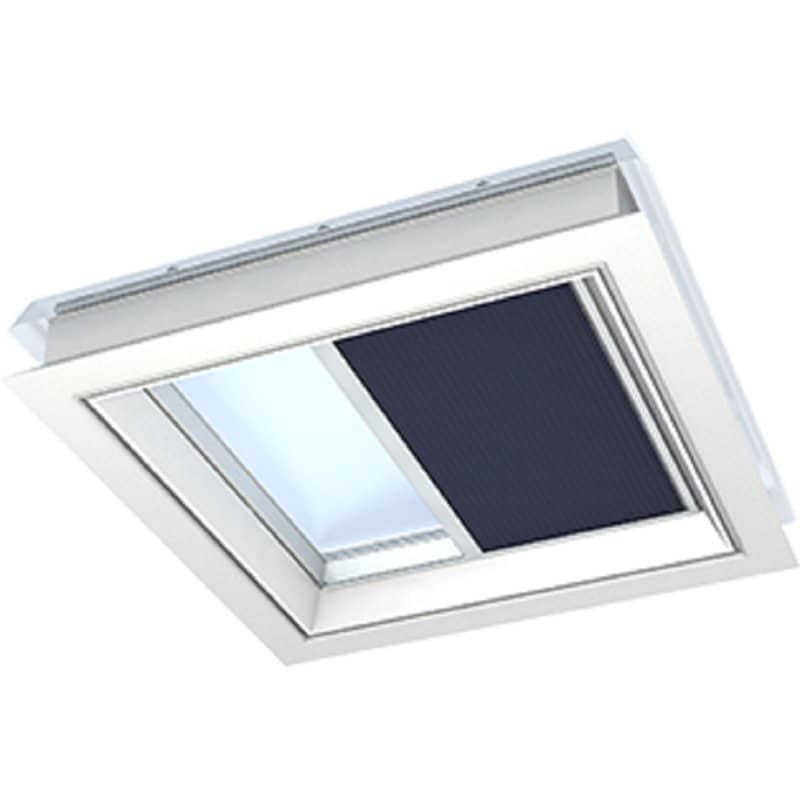 Velux electric pleated blinds fmg060060 for Velux window shades