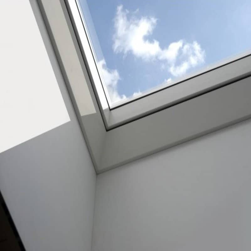 velux fixed flat glass roof window cfp060060s00m
