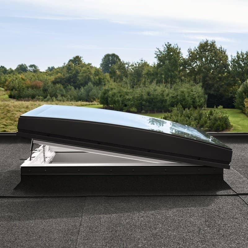 velux integra electric curved glass roof window cvp0600601093. Black Bedroom Furniture Sets. Home Design Ideas