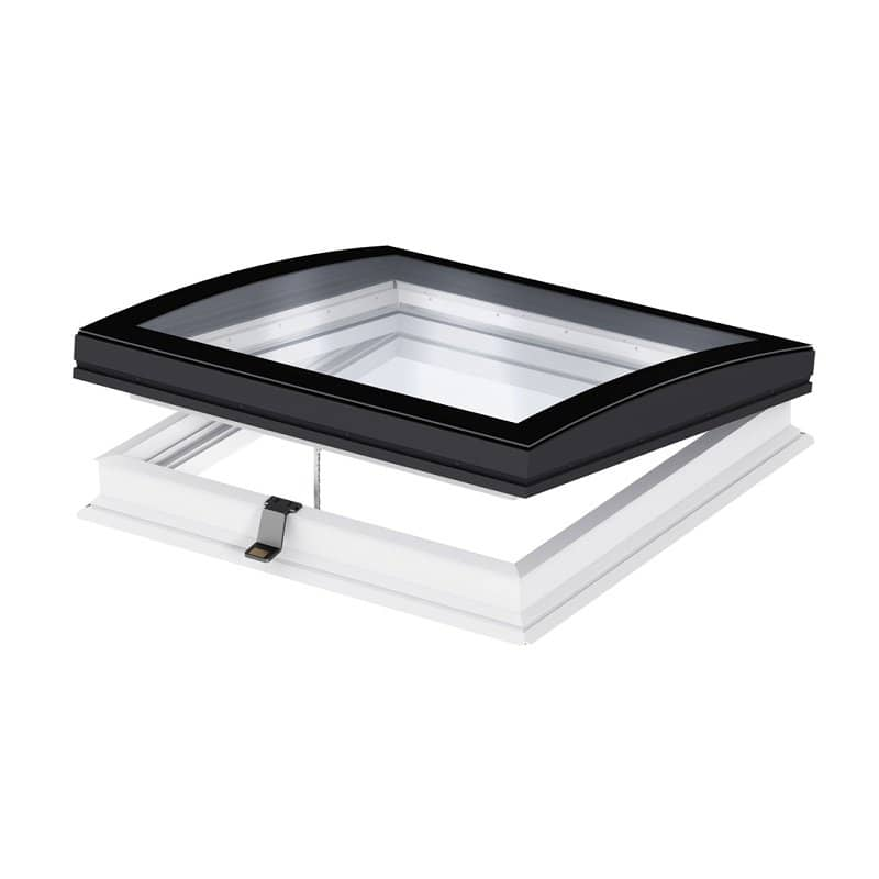 Velux integra electric curved glass roof window cvp0600601093 for Velux glass