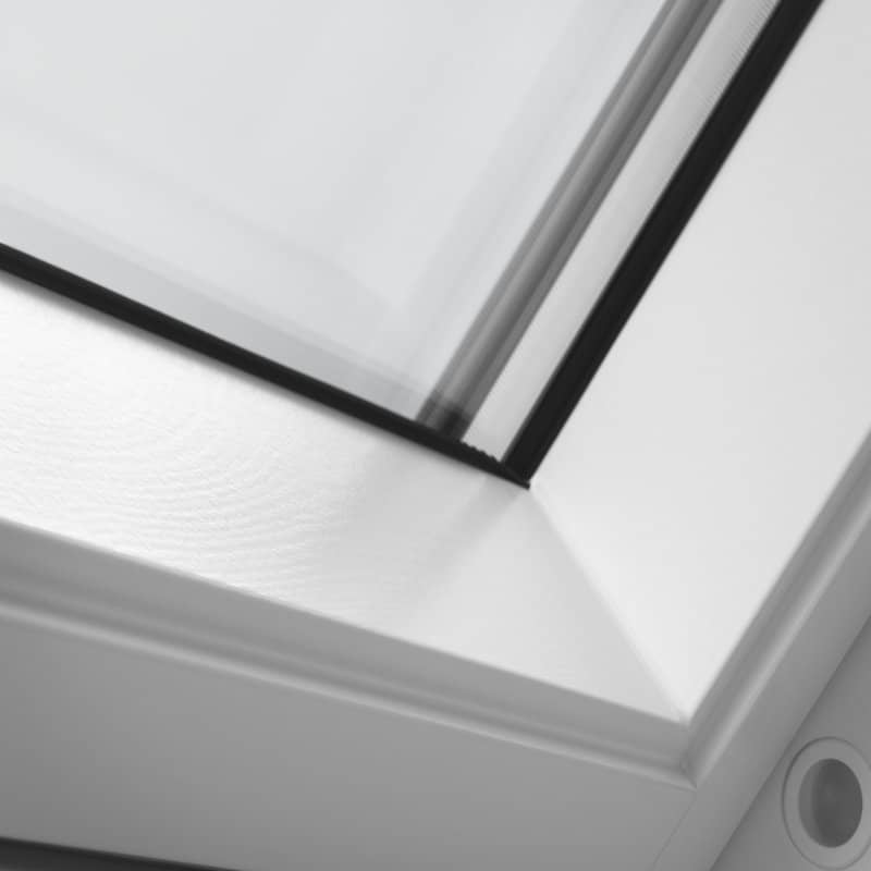 Velux Top Hung Roof Window White Painted Finish Gplck042070